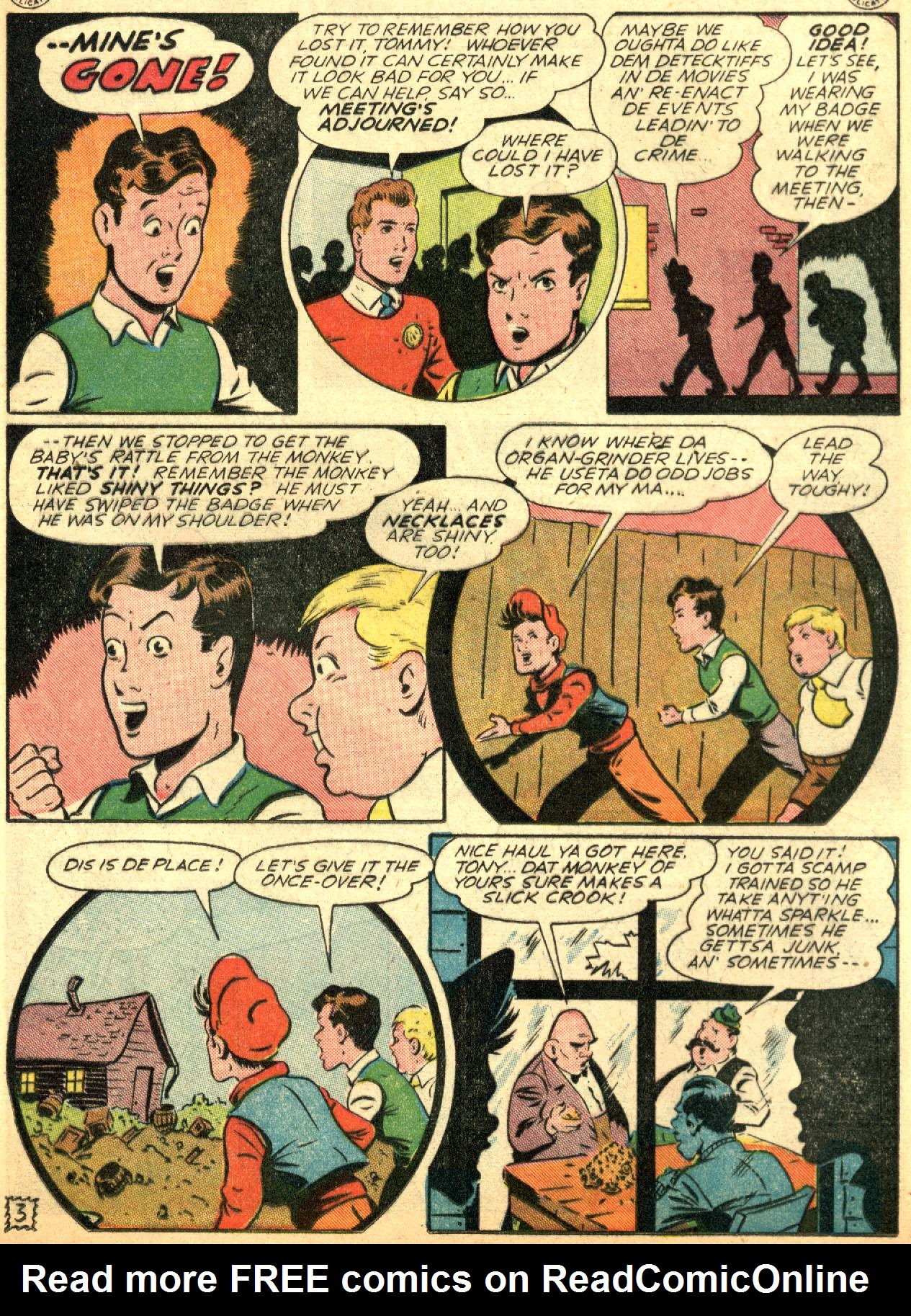 Read online Sensation (Mystery) Comics comic -  Issue #53 - 19