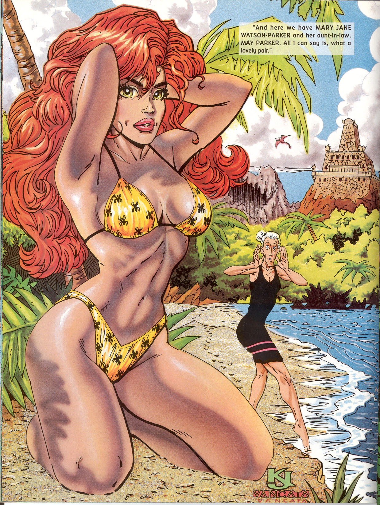 Read online Marvel Swimsuit Special comic -  Issue #2 - 18