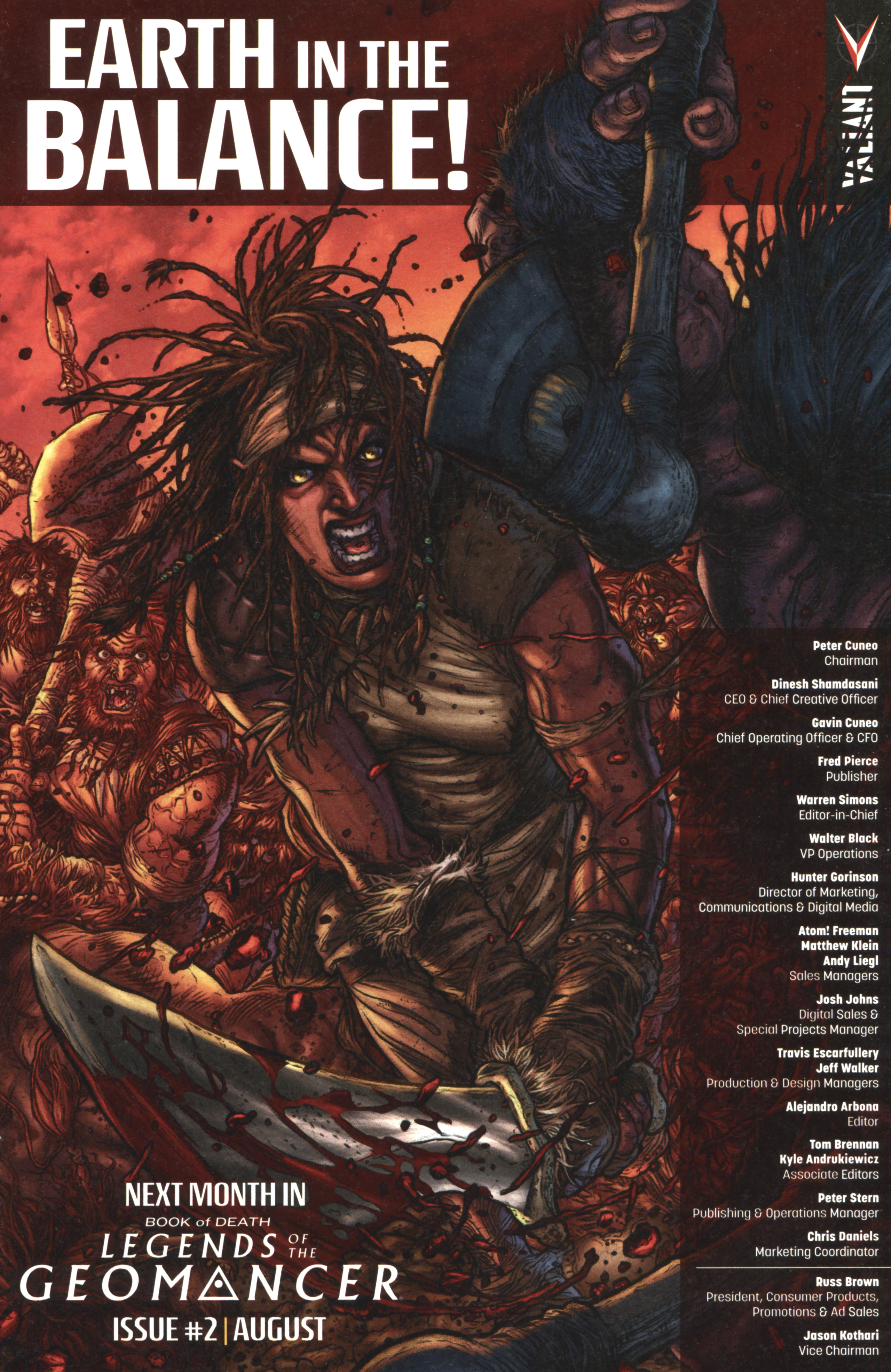Read online Book of Death: Legends of the Geomancer comic -  Issue #1 - 21