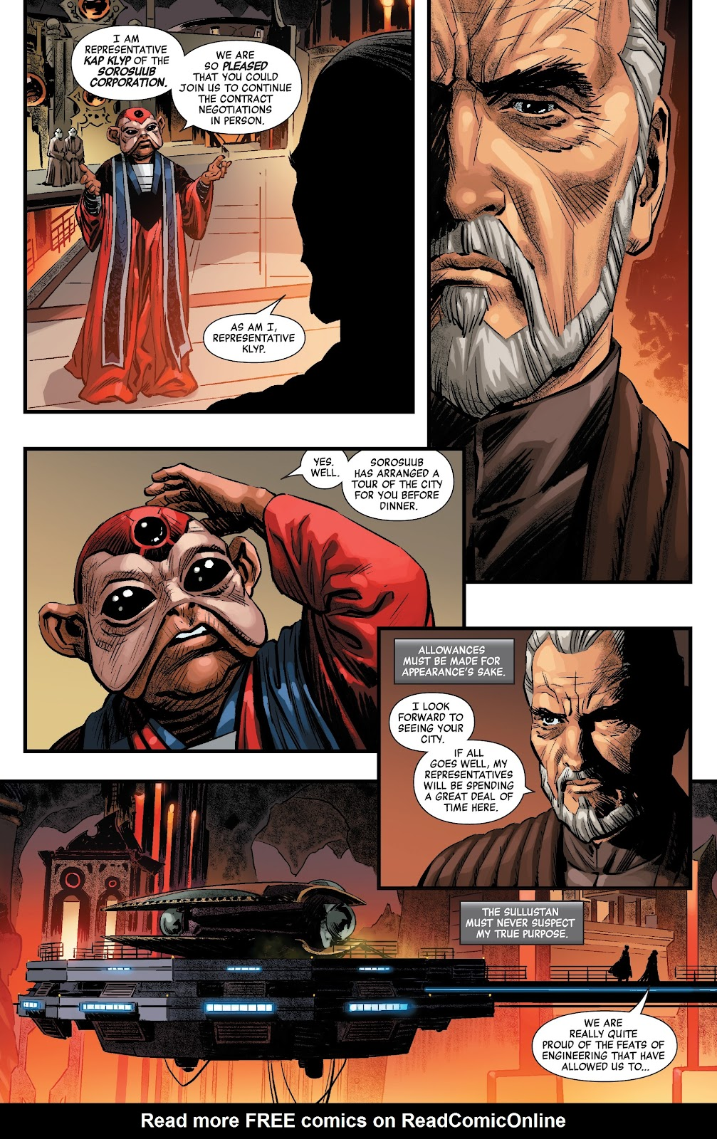 Read online Star Wars: Age of Republic - Count Dooku comic -  Issue # Full - 6