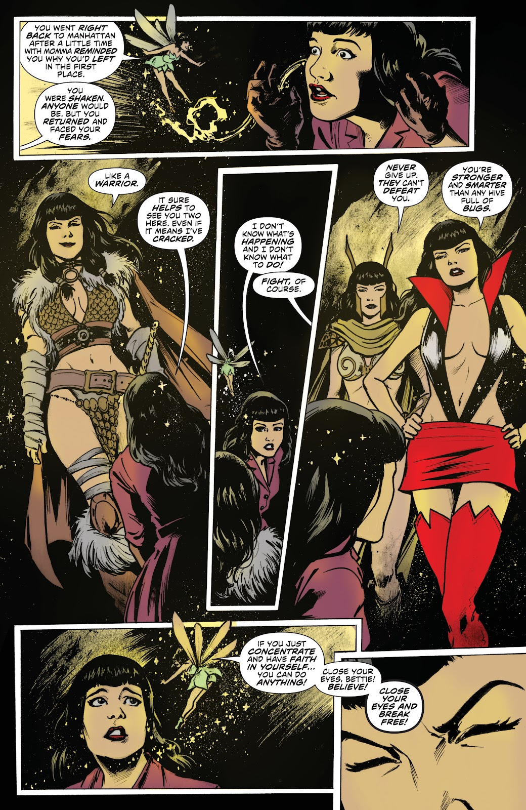 Read online Bettie Page: Unbound comic -  Issue #7 - 14
