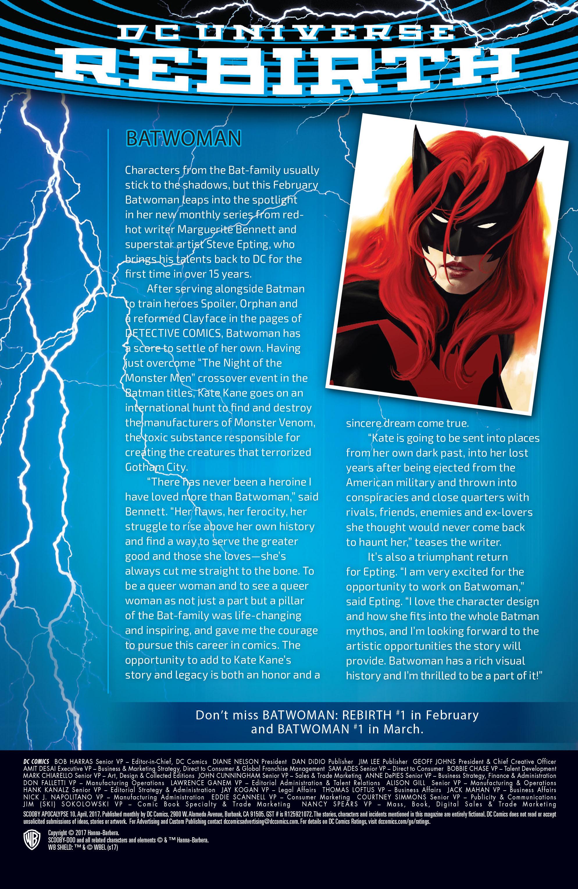 Read online Scooby Apocalypse comic -  Issue #10 - 31