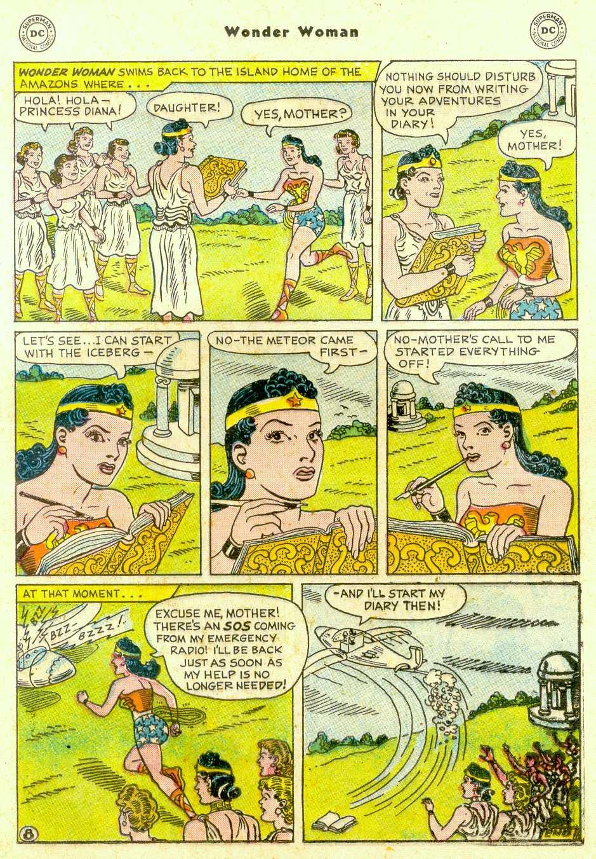 Read online Wonder Woman (1942) comic -  Issue #96 - 22