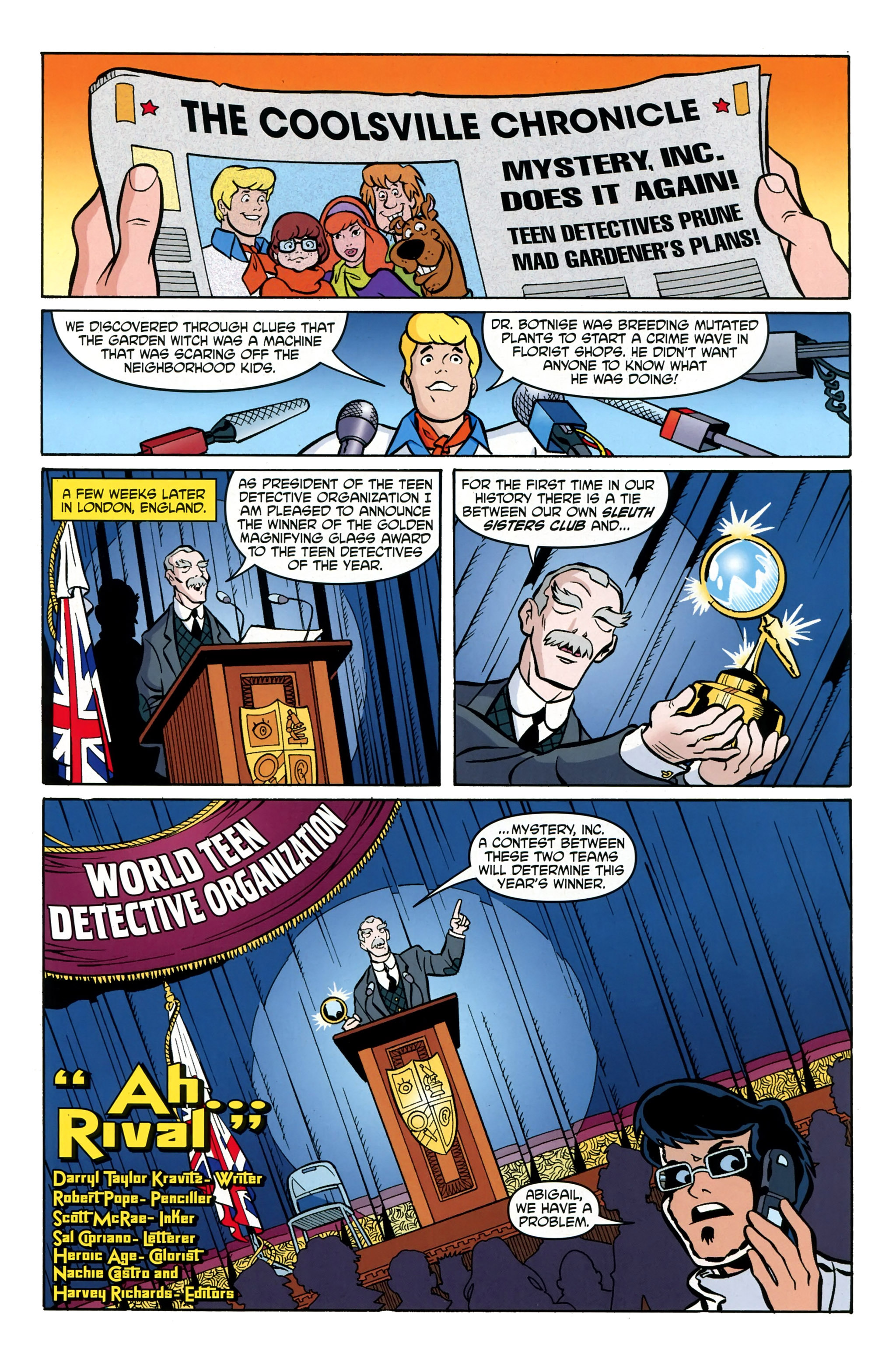 Read online Scooby-Doo: Where Are You? comic -  Issue #39 - 18