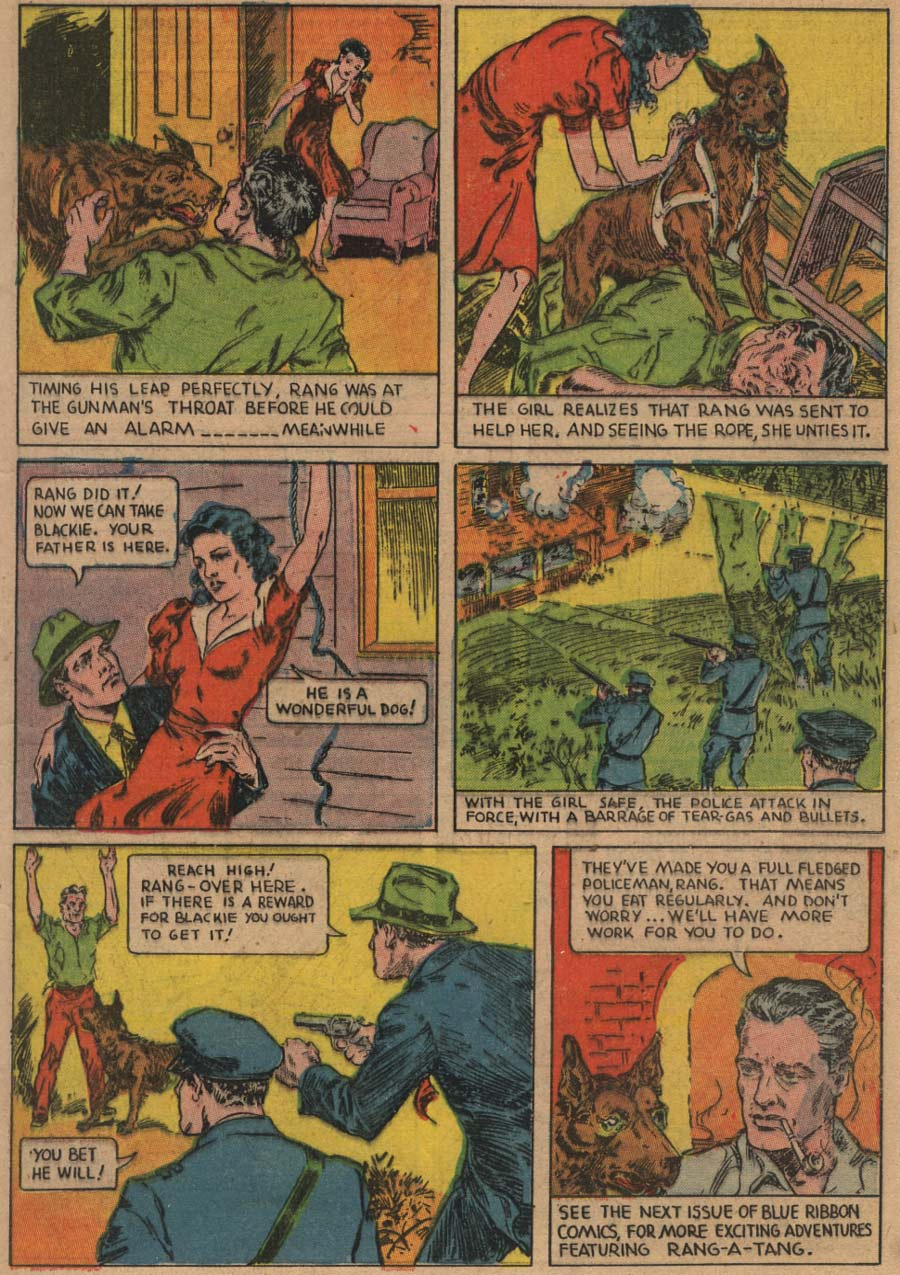 Blue Ribbon Comics (1939) issue 1 - Page 9