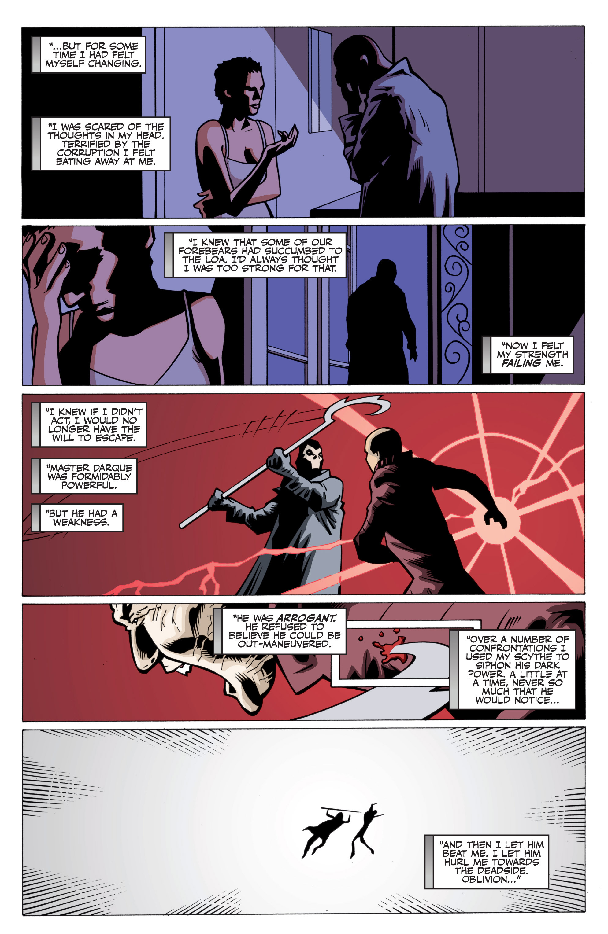 Read online Shadowman: End Times comic -  Issue #3 - 15