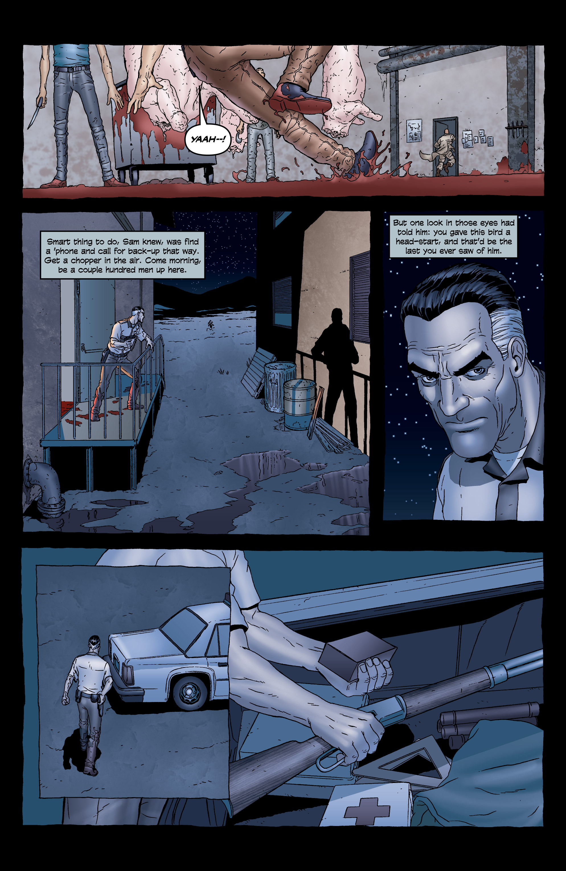 Read online 303 comic -  Issue #5 - 9