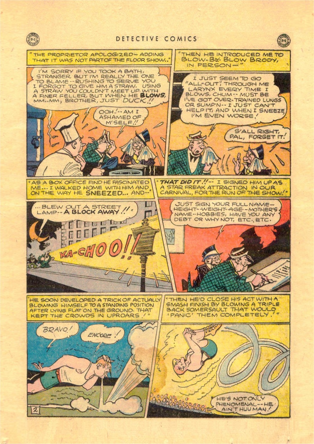 Read online Detective Comics (1937) comic -  Issue #92 - 35