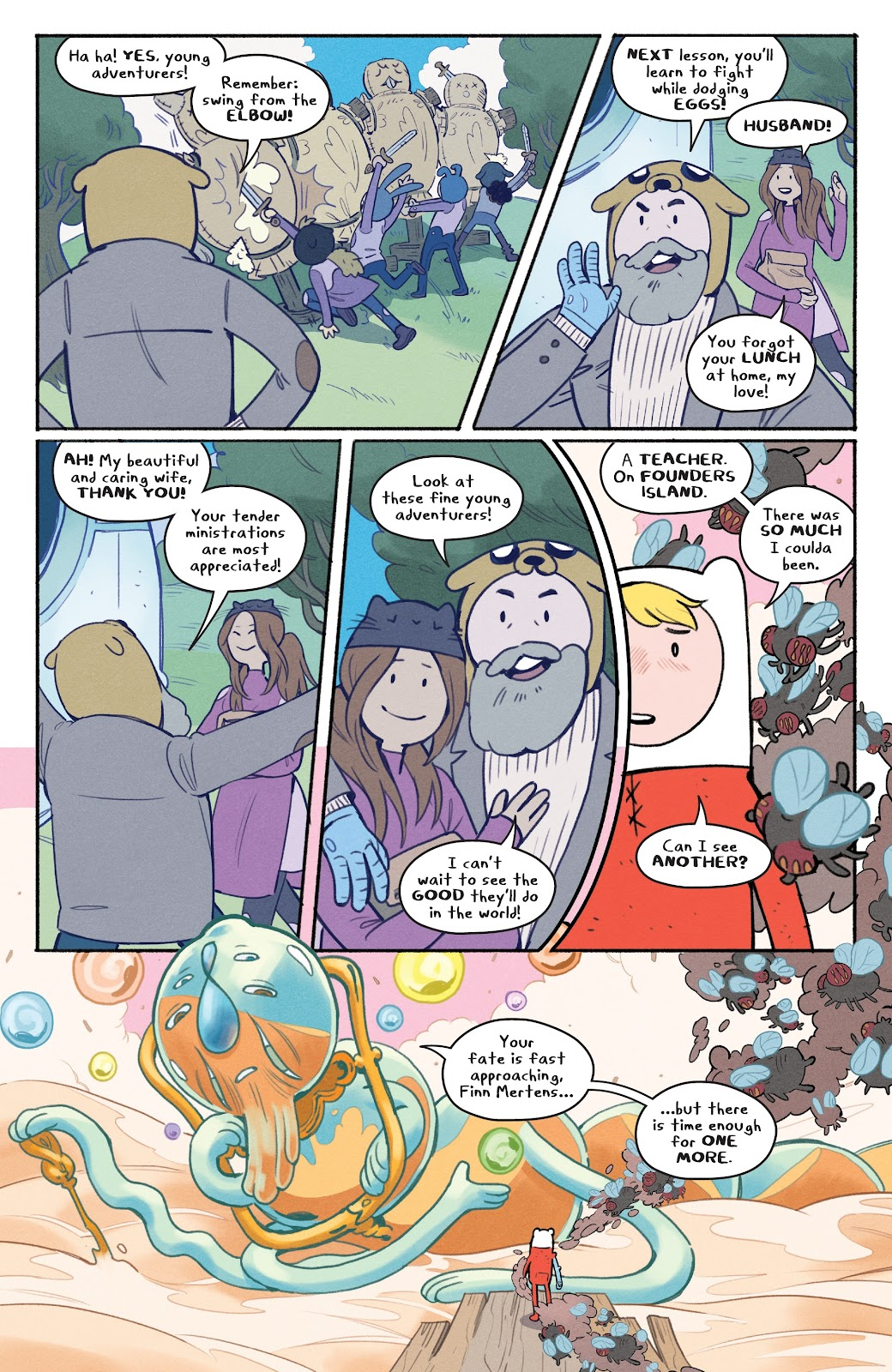Read online Adventure Time: Beginning of the End comic -  Issue # _TPB - 61