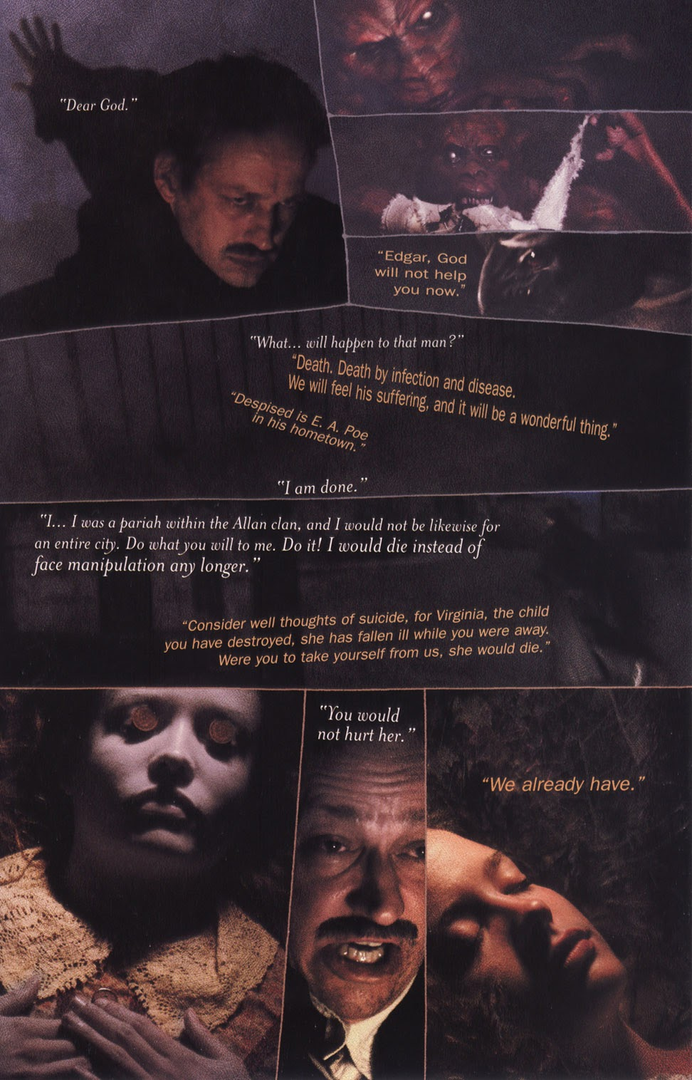 Read online In the Shadow of Edgar Allan Poe comic -  Issue # TPB - 61