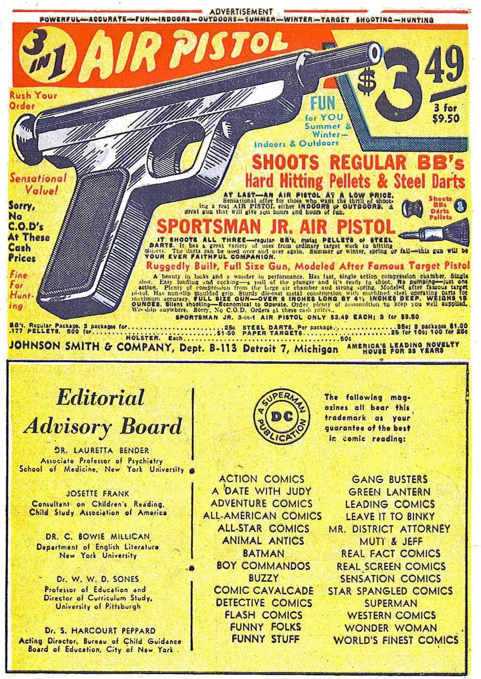 Read online Sensation (Mystery) Comics comic -  Issue #79 - 49