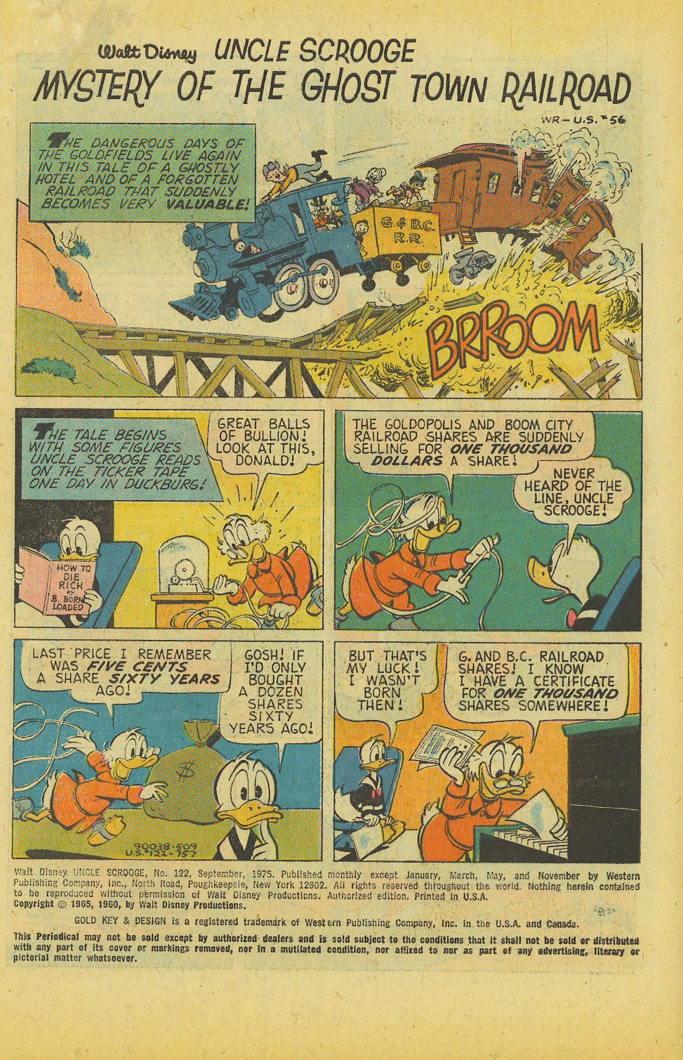 Read online Uncle Scrooge (1953) comic -  Issue #122 - 3