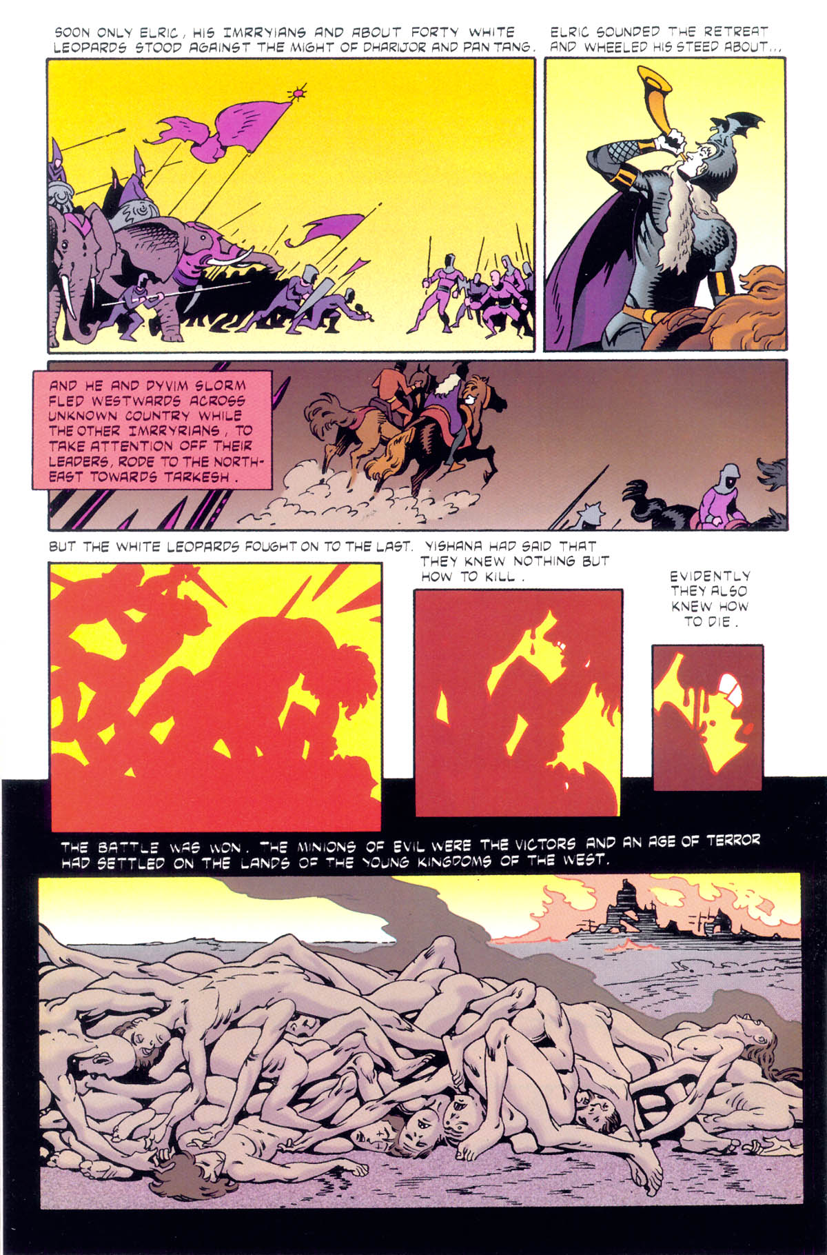 Read online Elric: Stormbringer comic -  Issue #1 - 28