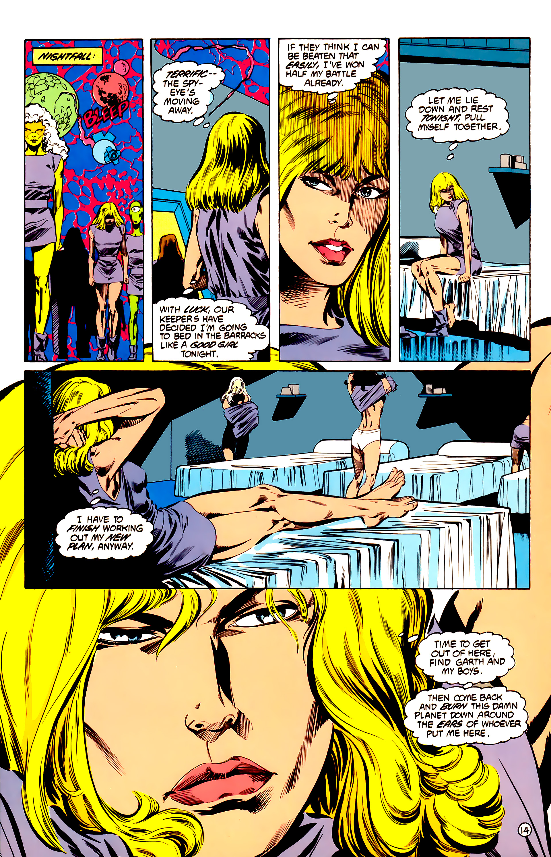 Legion of Super-Heroes (1984) 32 Page 13