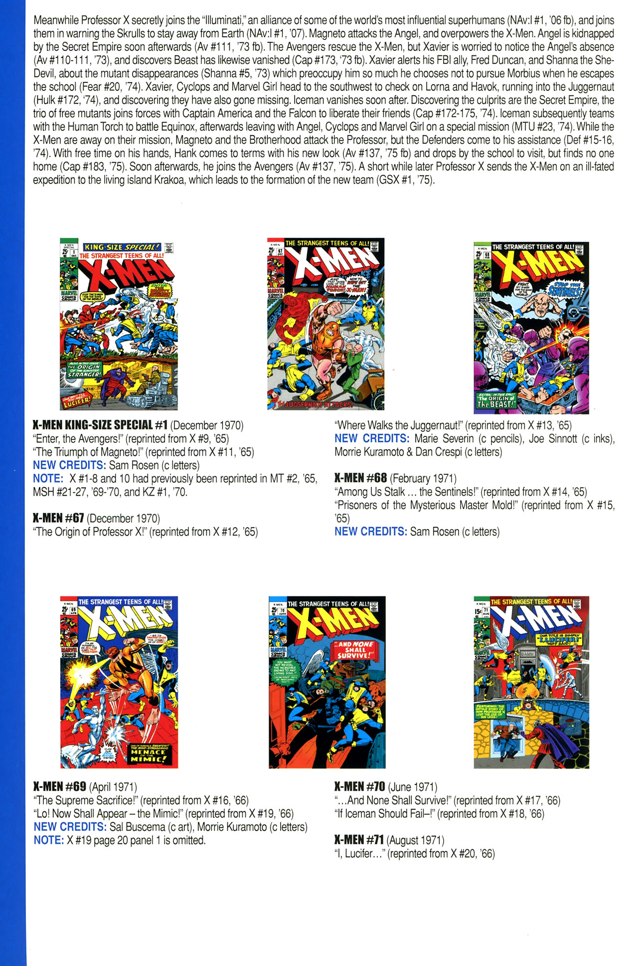 Read online Official Index to the Marvel Universe comic -  Issue #2 - 54