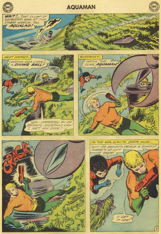 Read online Aquaman (1962) comic -  Issue #12 - 10