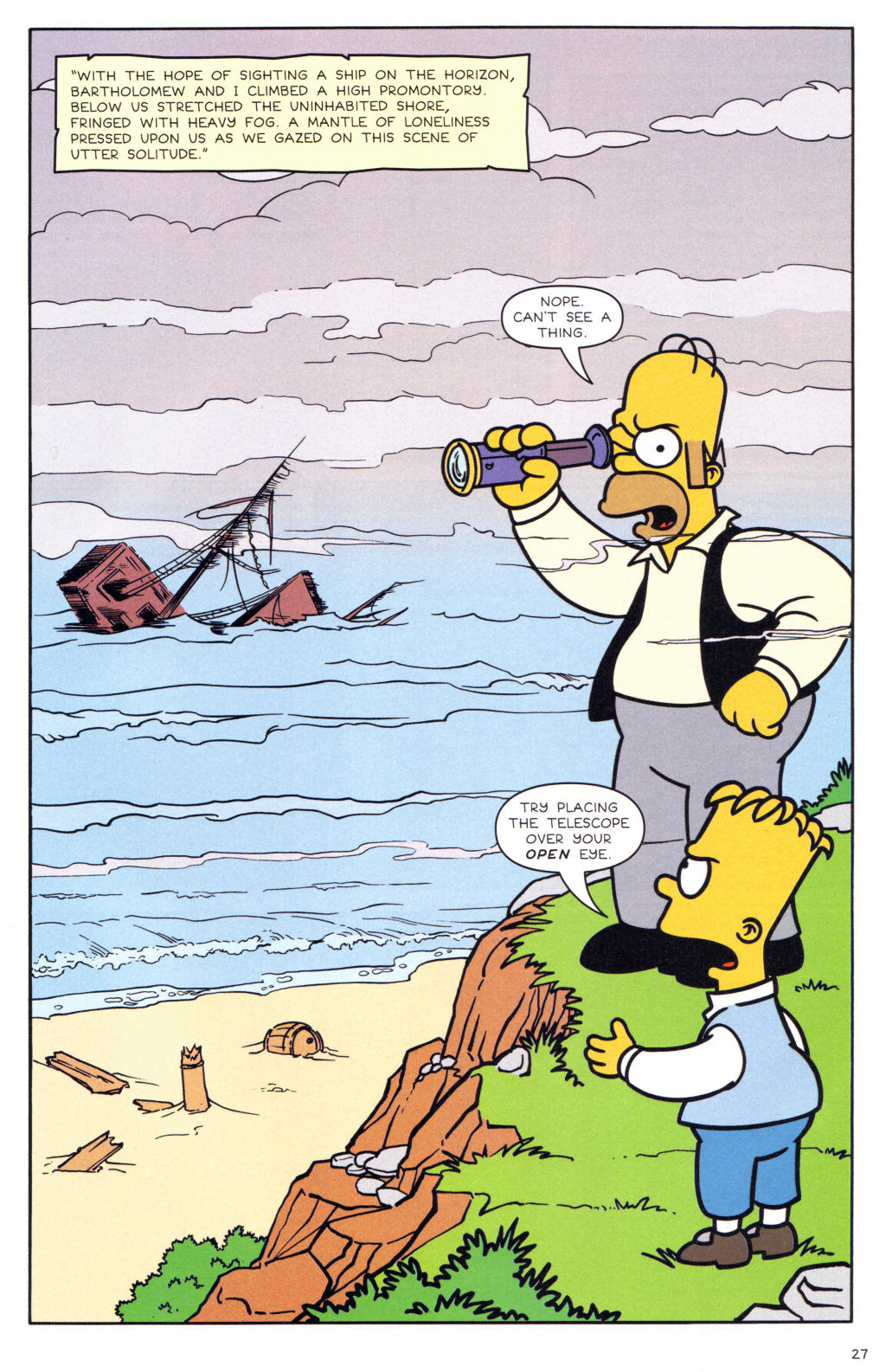 Read online Simpsons Comics comic -  Issue #127 - 22