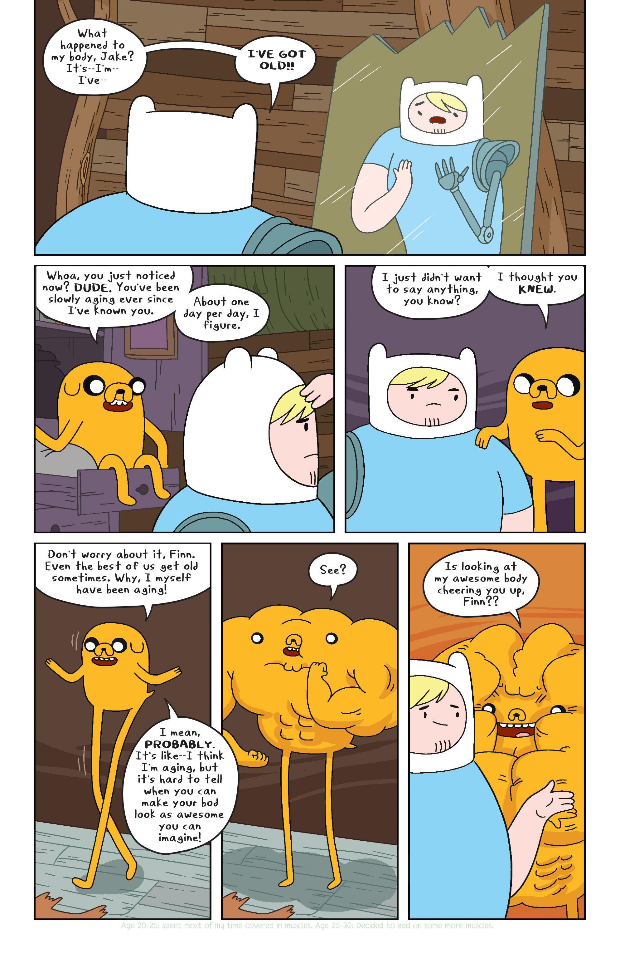 Read online Adventure Time comic -  Issue #32 - 3