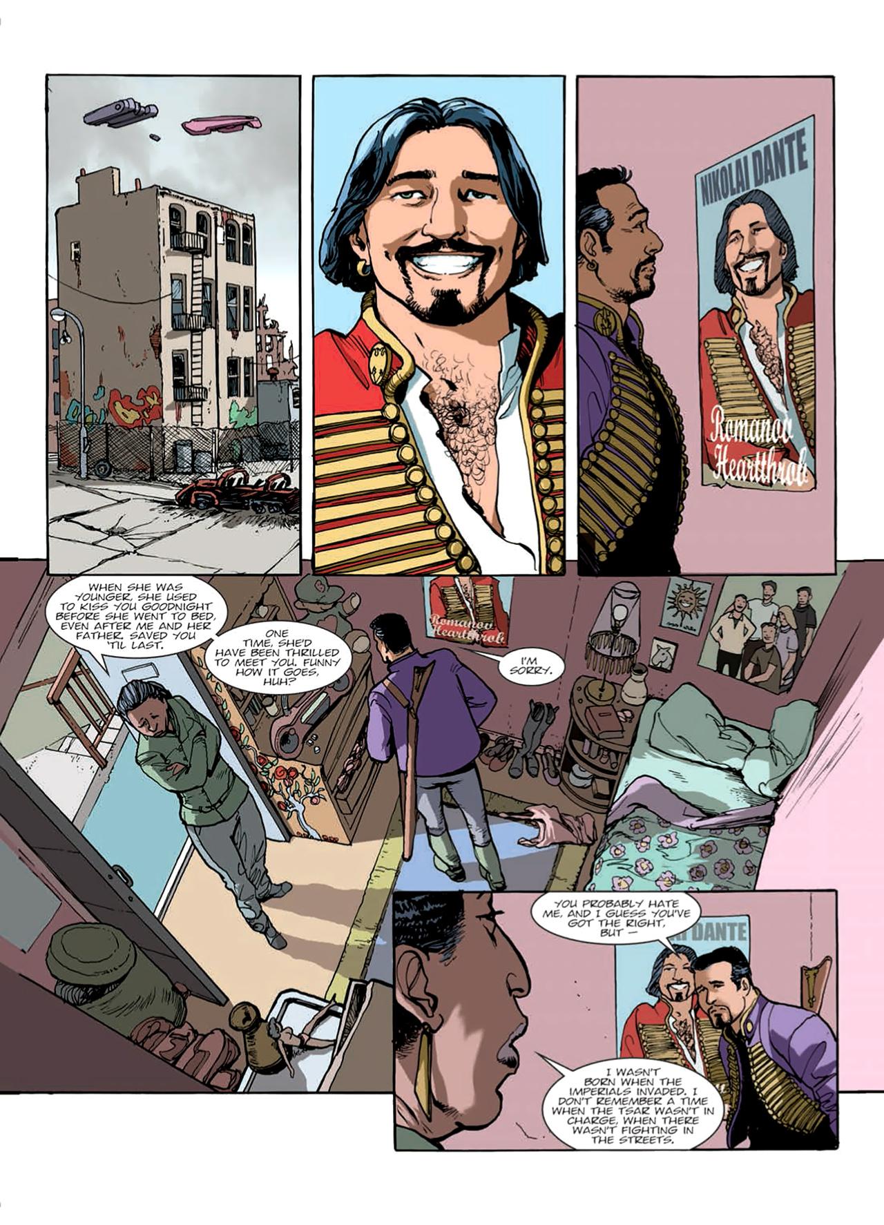Read online Nikolai Dante comic -  Issue # TPB 9 - 30