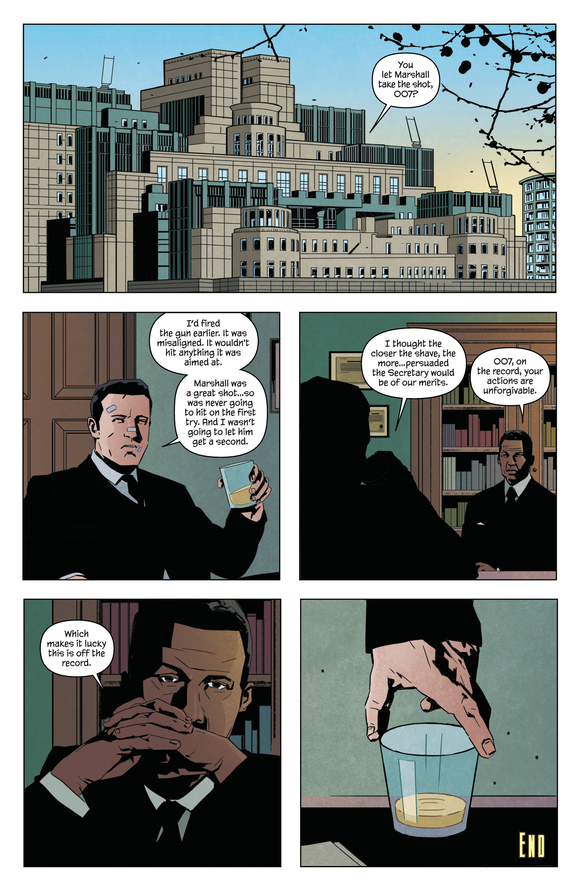 Read online James Bond: Service comic -  Issue # Full - 39