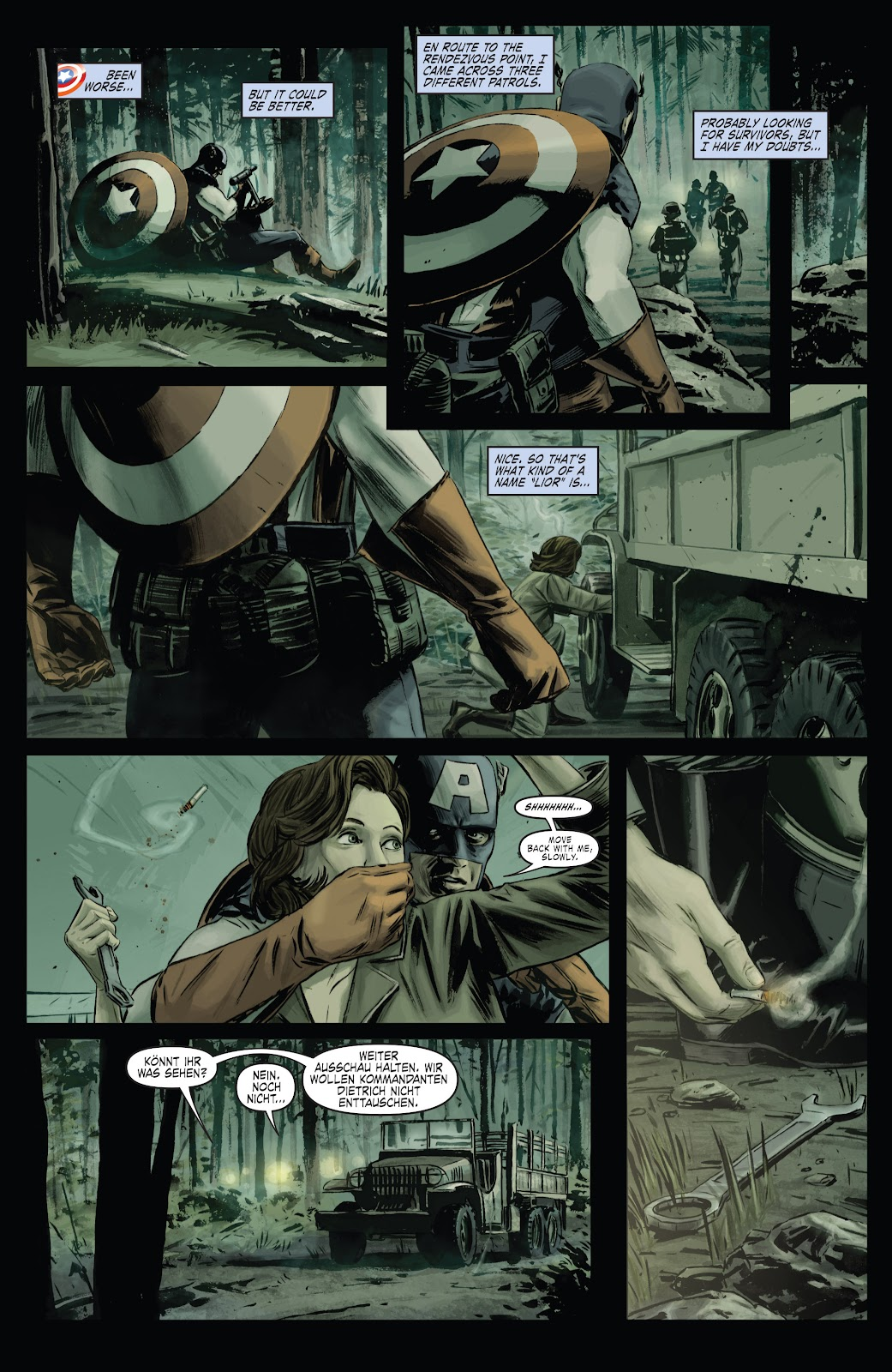Read online Captain America Theater Of War: Operation Zero-Point comic -  Issue # Full - 6