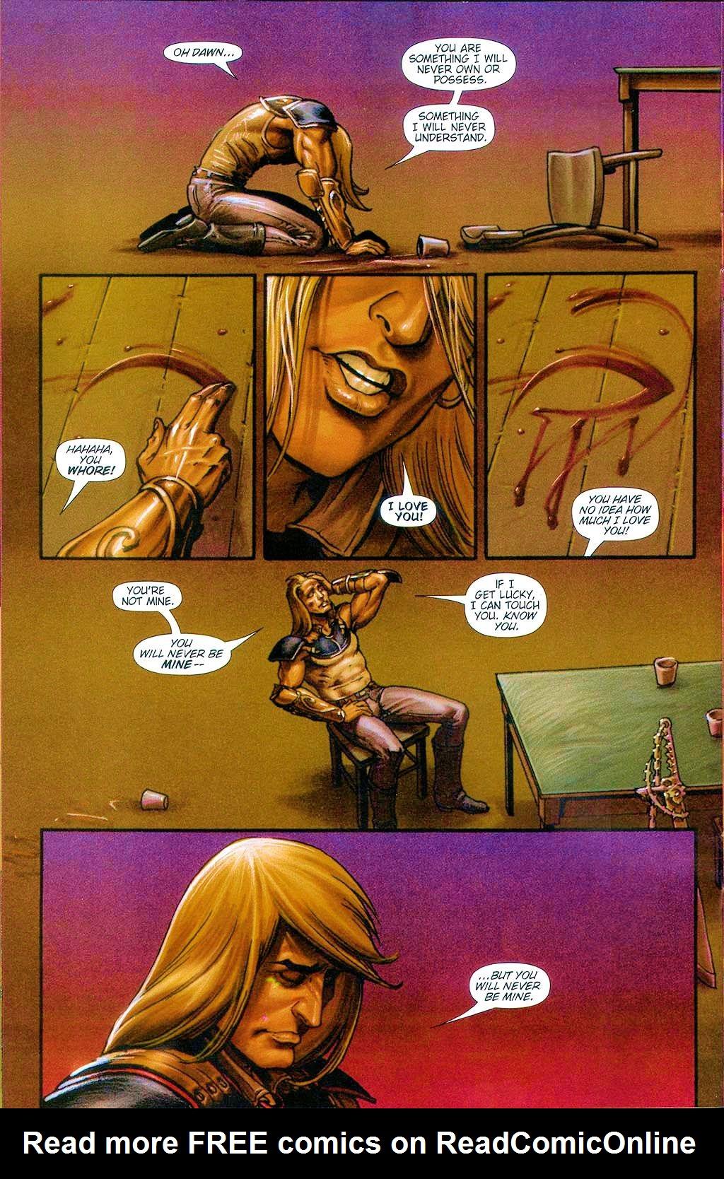 Read online Dawn: Three Tiers comic -  Issue #6 - 10