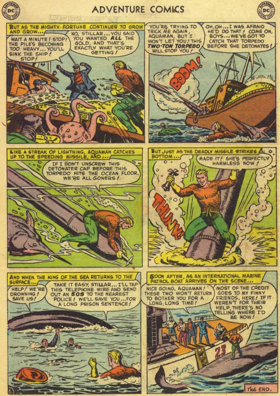 Read online Adventure Comics (1938) comic -  Issue #167 - 22