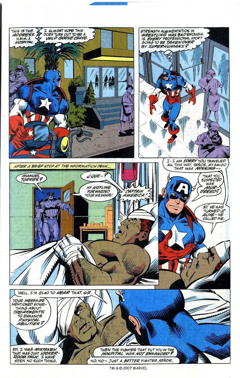 Read online Captain America (1968) comic -  Issue # _Annual 12 - 27