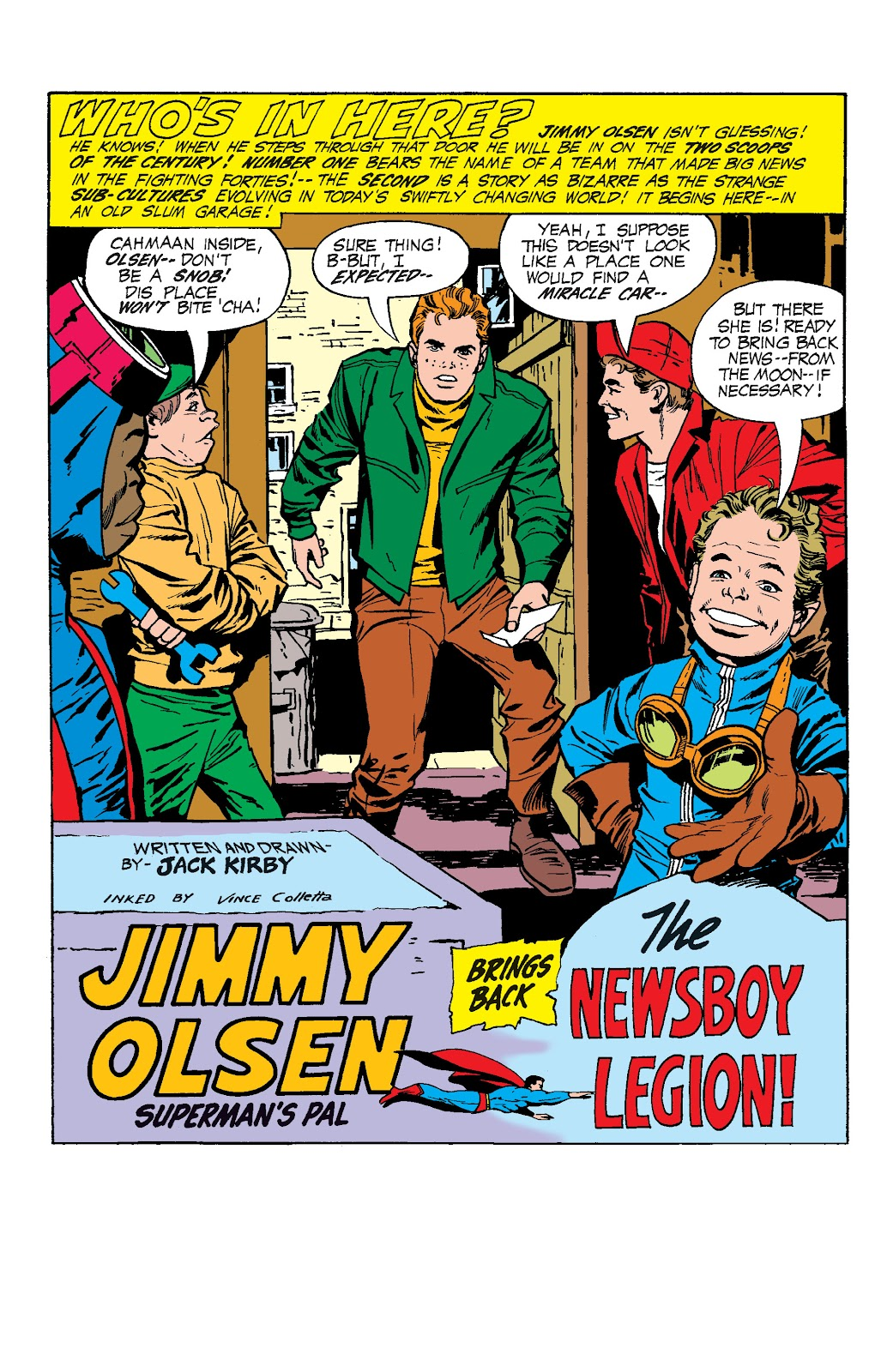 Read online Superman's Pal, Jimmy Olsen by Jack Kirby comic -  Issue # TPB (Part 1) - 10