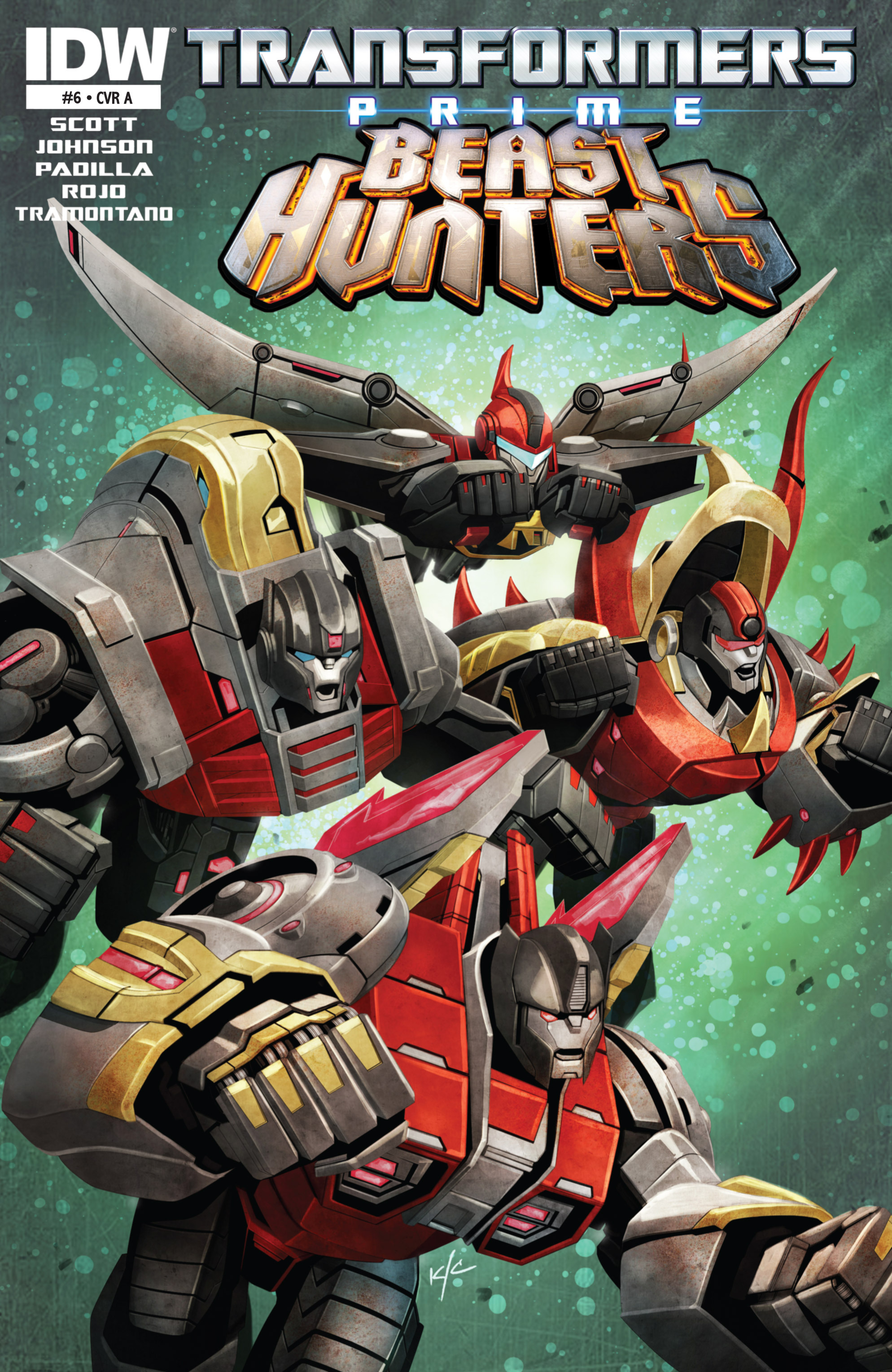 Read online Transformers Prime: Beast Hunters comic -  Issue #6 - 1