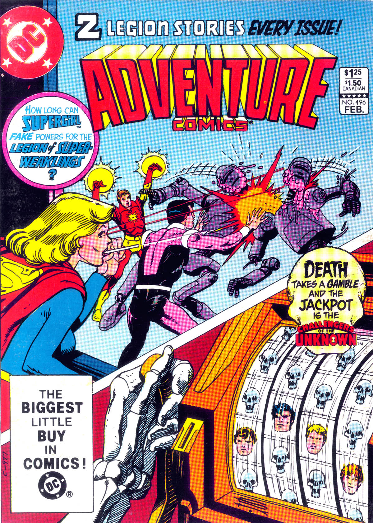 Read online Adventure Comics (1938) comic -  Issue #496 - 1