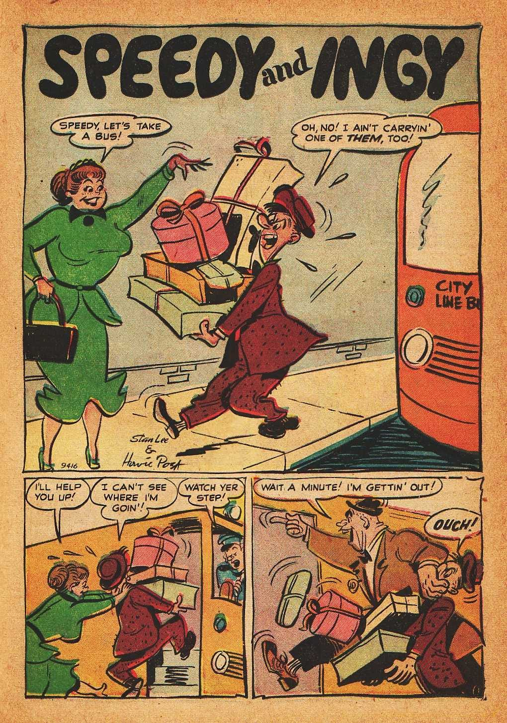 Read online Nellie The Nurse (1945) comic -  Issue #32 - 23