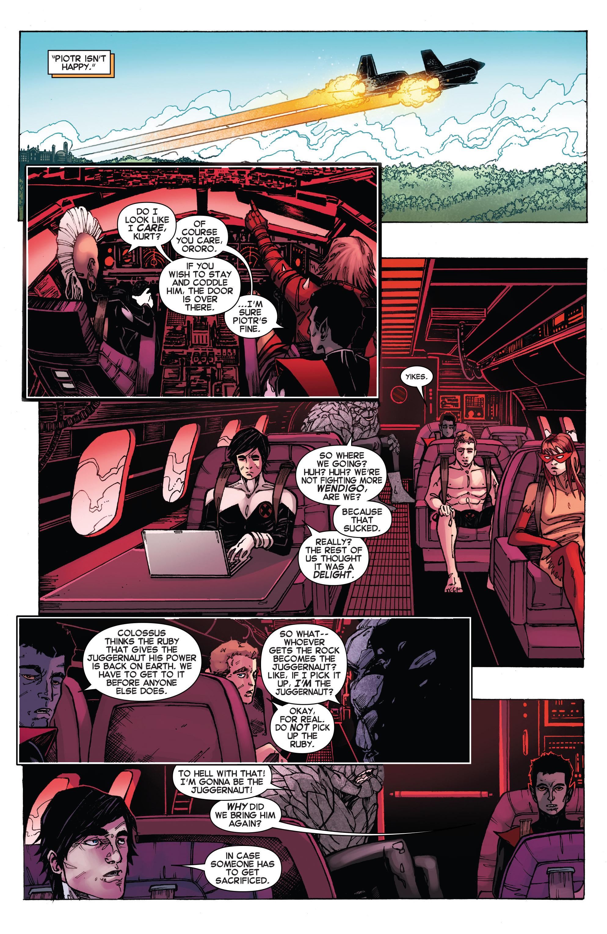 Read online Amazing X-Men (2014) comic -  Issue #15 - 16