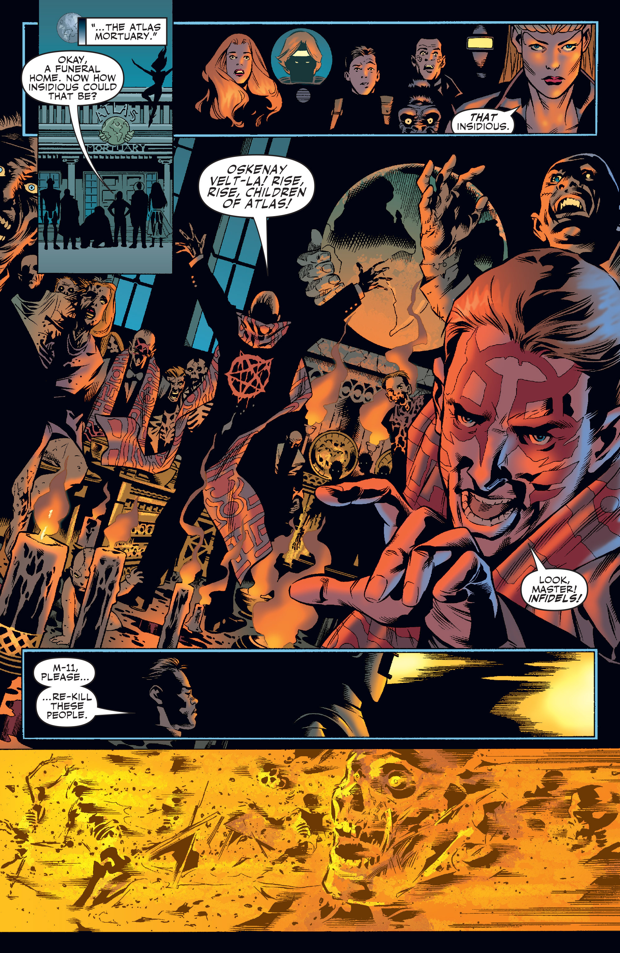 Read online Agents Of Atlas (2006) comic -  Issue #4 - 15