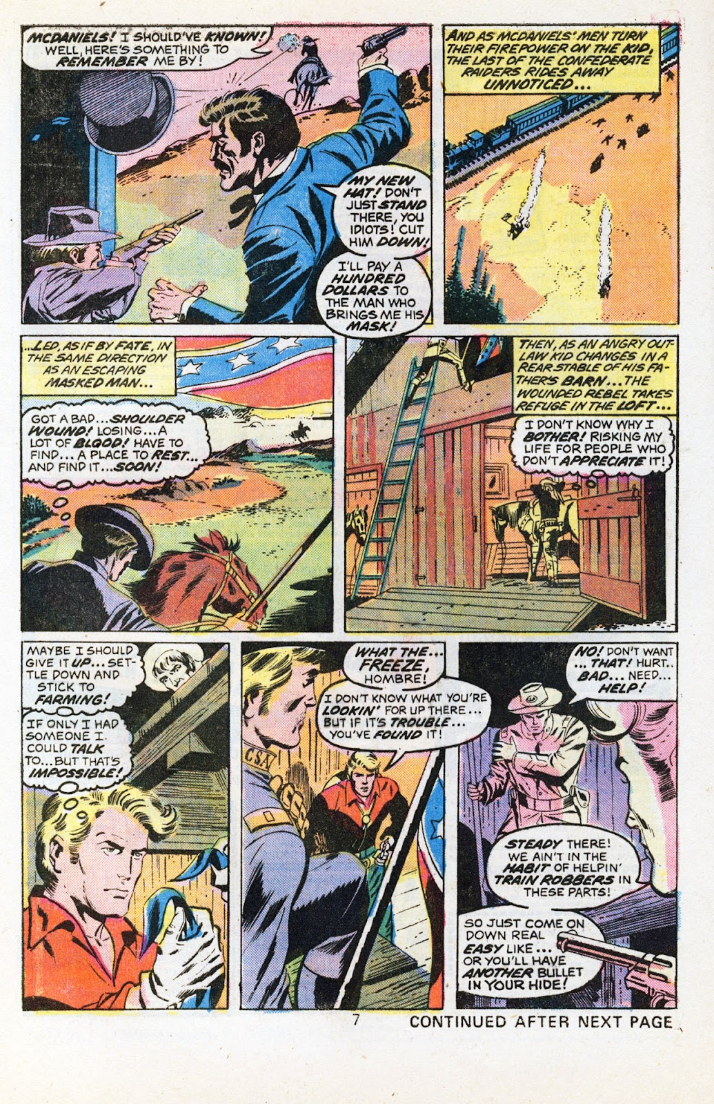 The Outlaw Kid (1970) issue 30 - Page 9