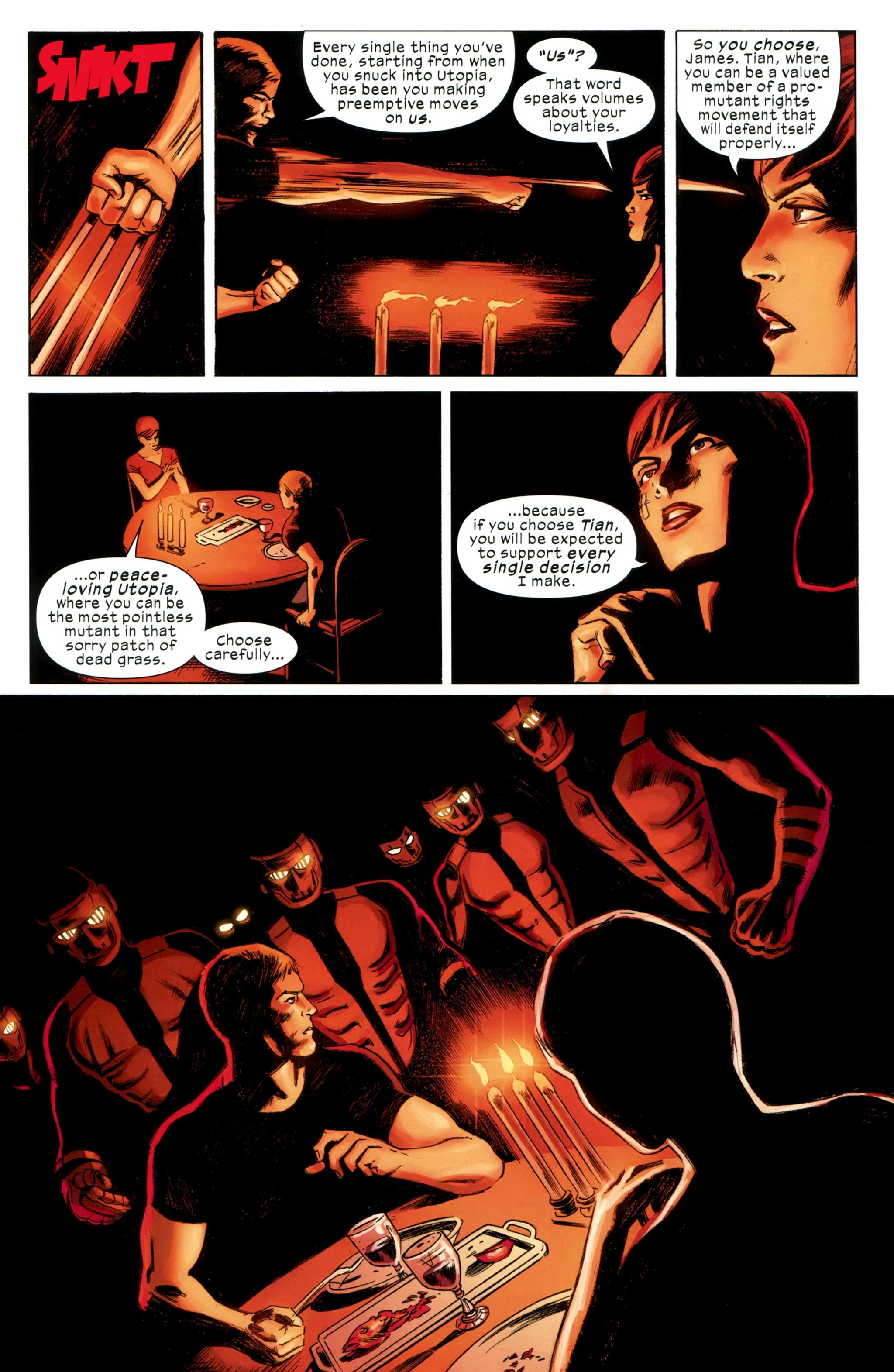 Read online Ultimate Comics X-Men comic -  Issue #31 - 8