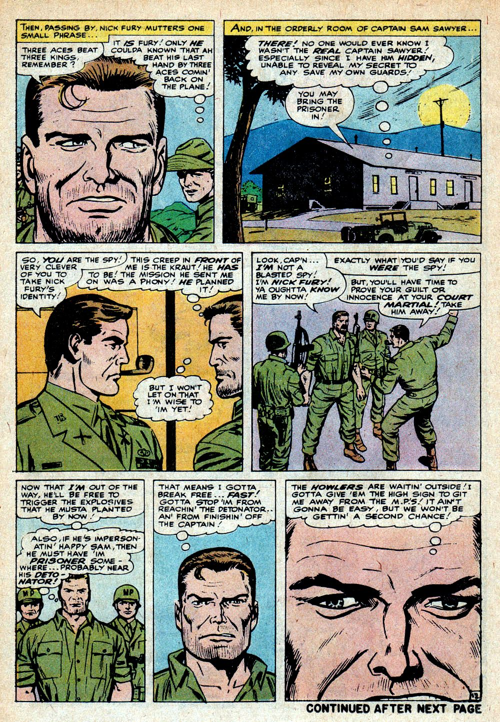 Read online Sgt. Fury comic -  Issue #85 - 18