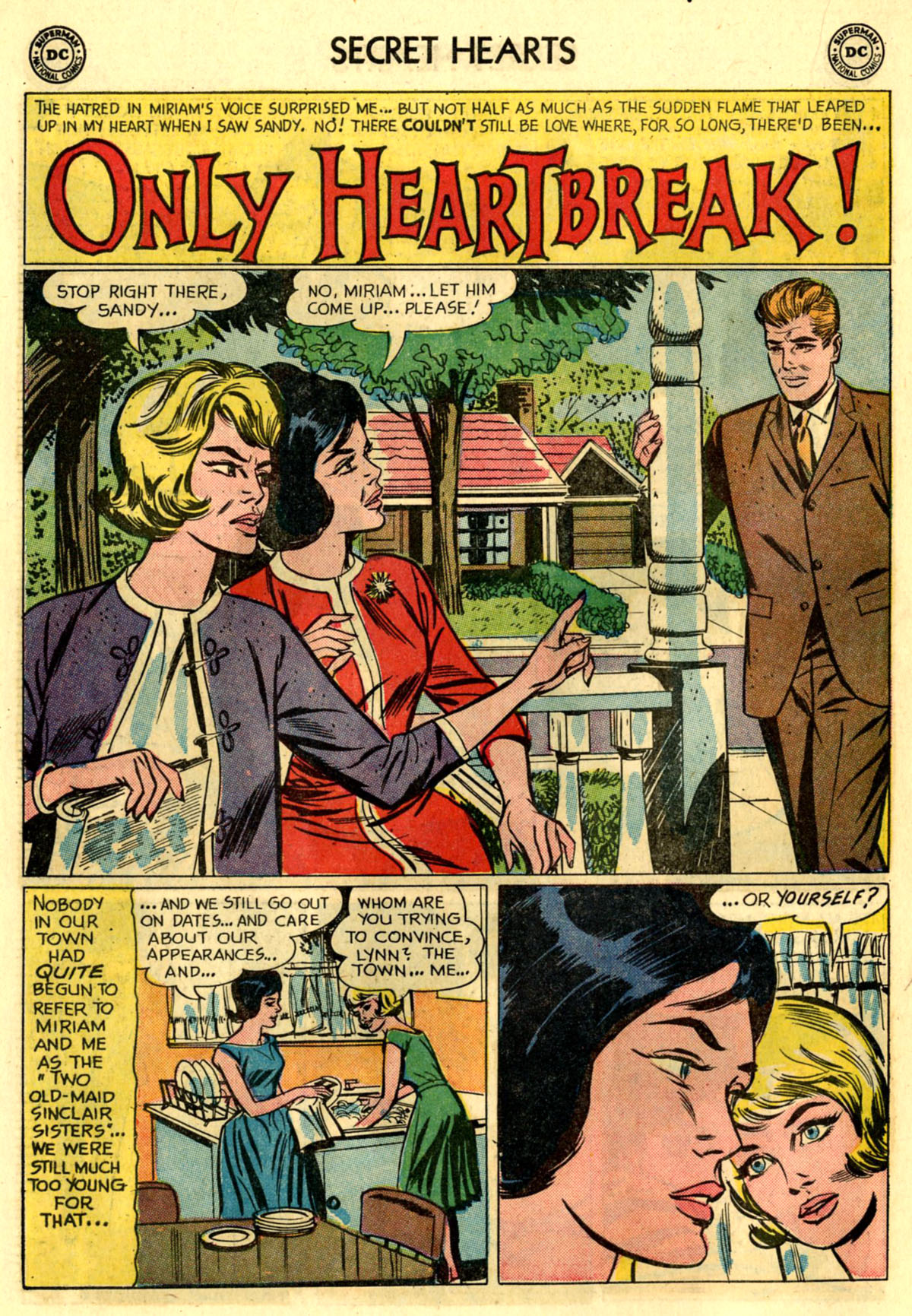 Read online Secret Hearts comic -  Issue #83 - 18