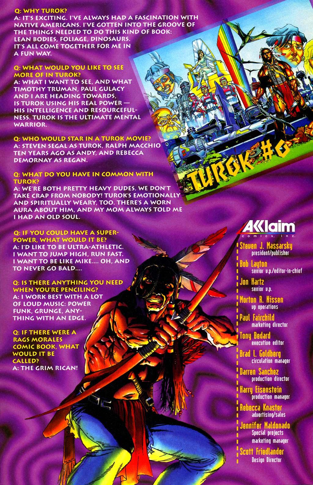 Read online Turok, Dinosaur Hunter (1993) comic -  Issue #29 - 24