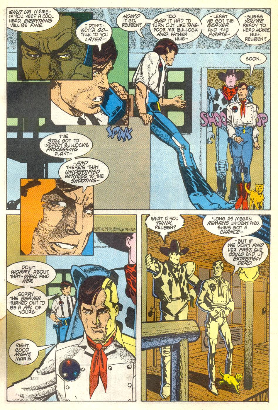 Read online American Flagg! comic -  Issue #17 - 16