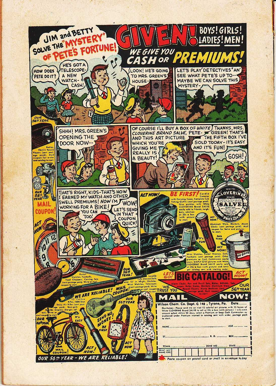 Read online Nellie The Nurse (1945) comic -  Issue #32 - 36