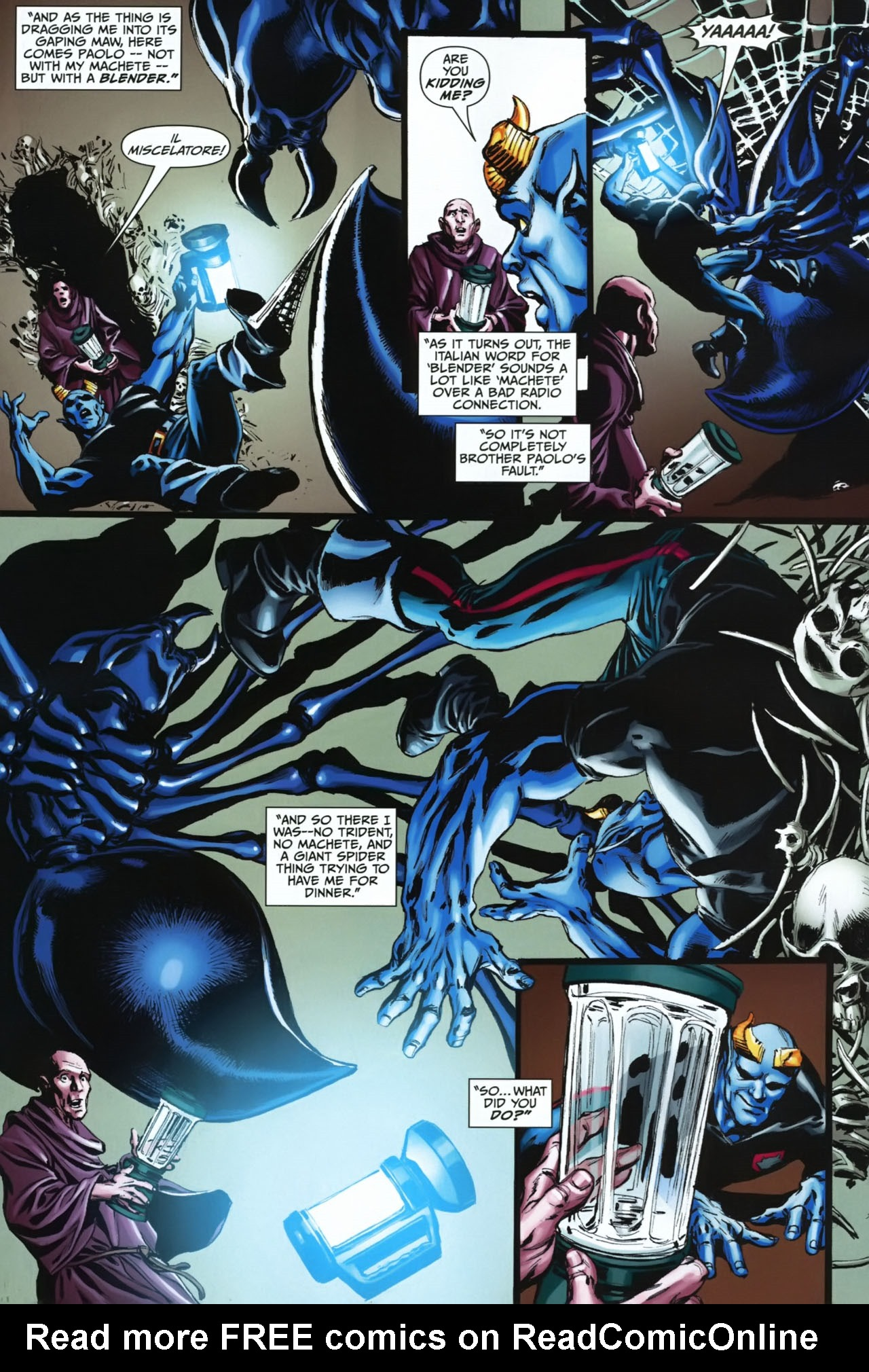 Read online Shadowpact comic -  Issue #23 - 9