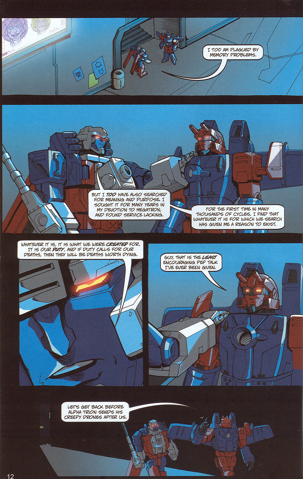 Read online Transformers: Collectors' Club comic -  Issue #22 - 12