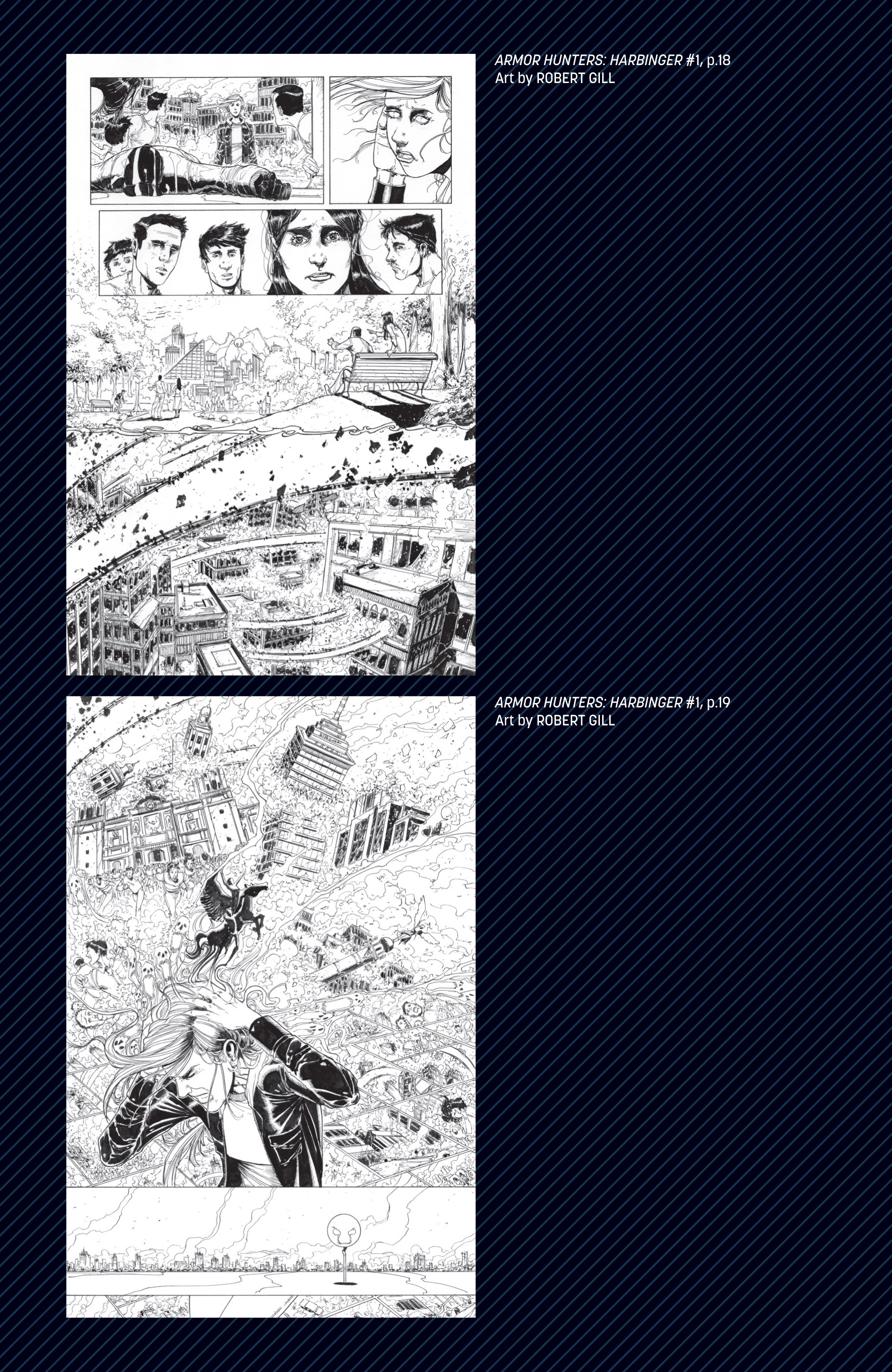 Read online Armor Hunters: Harbinger comic -  Issue # TPB - 114