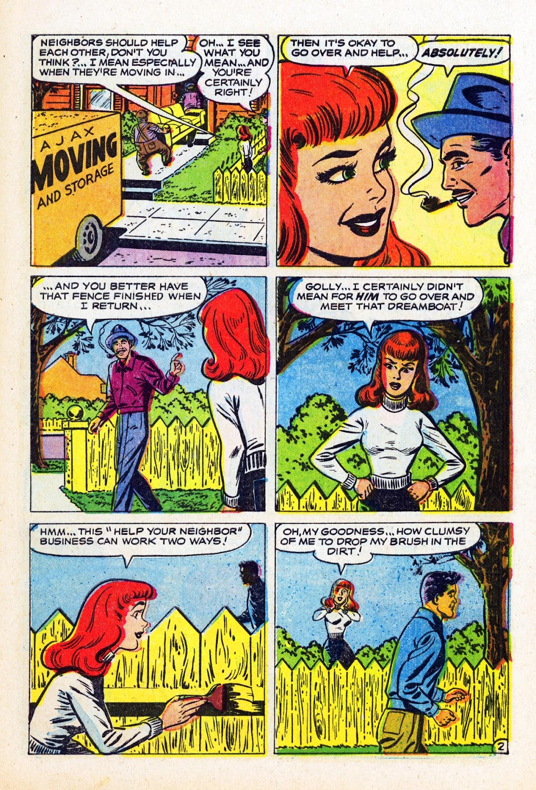 Read online Patsy Walker comic -  Issue #58 - 29
