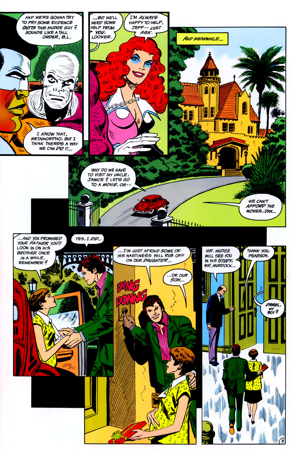 Read online Adventures of the Outsiders comic -  Issue #43 - 4