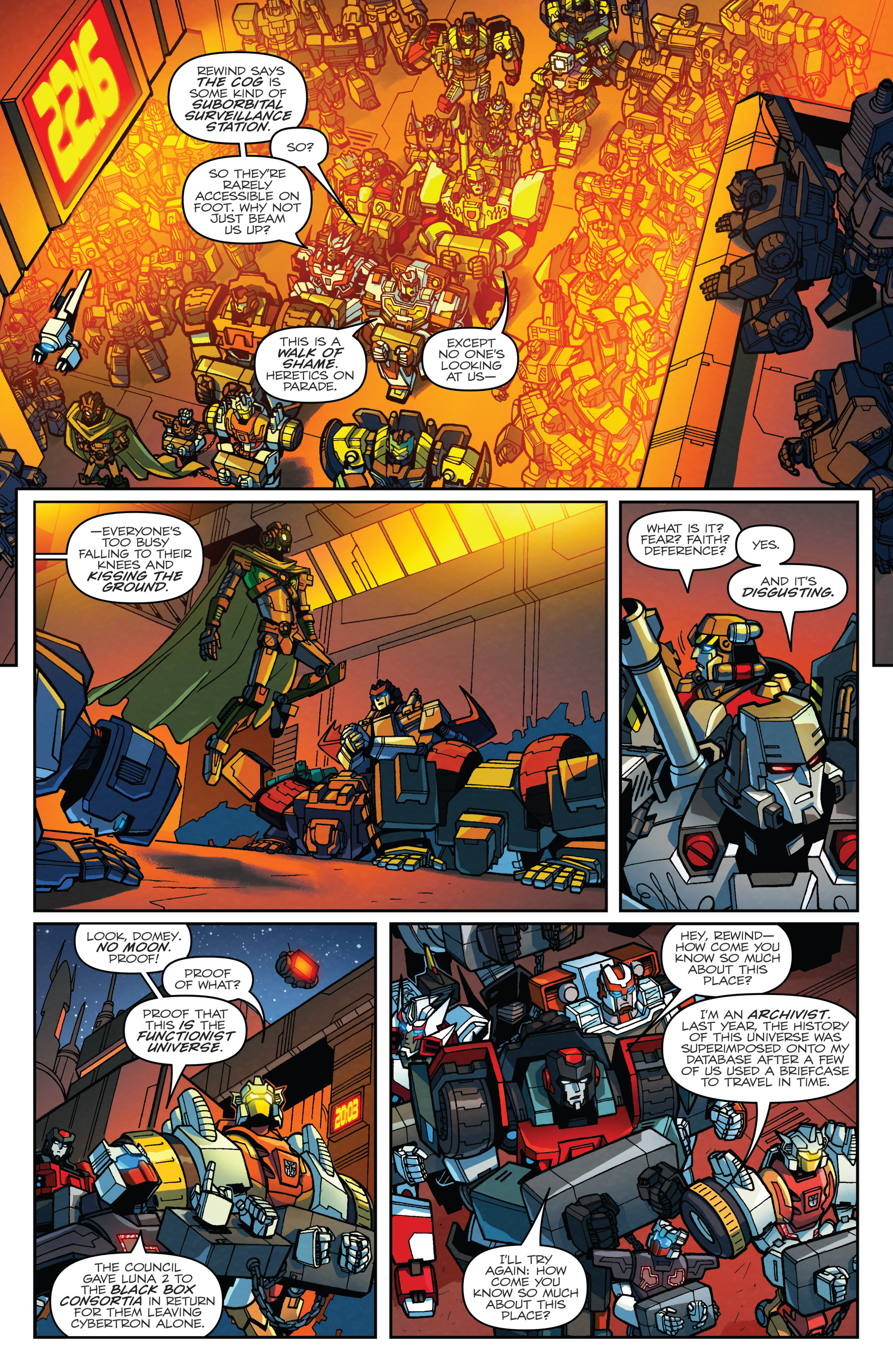Read online Transformers: Lost Light comic -  Issue #2 - 7