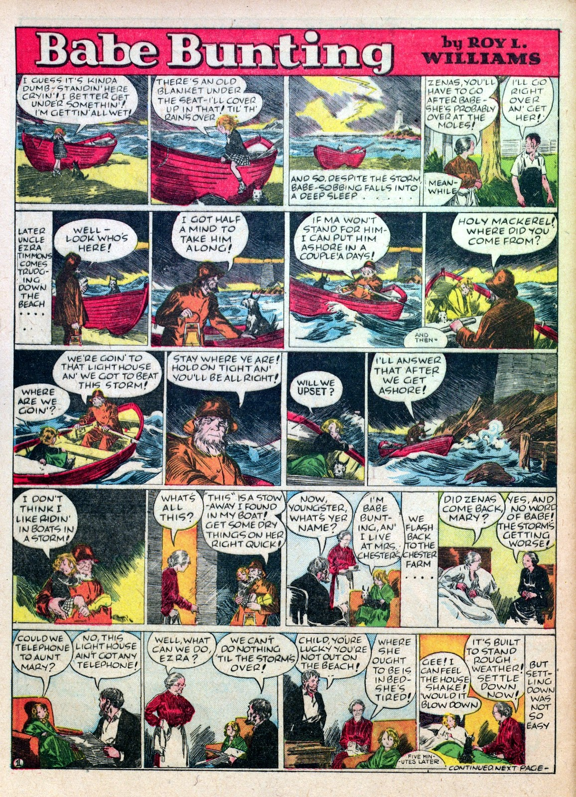 Read online Famous Funnies comic -  Issue #45 - 54