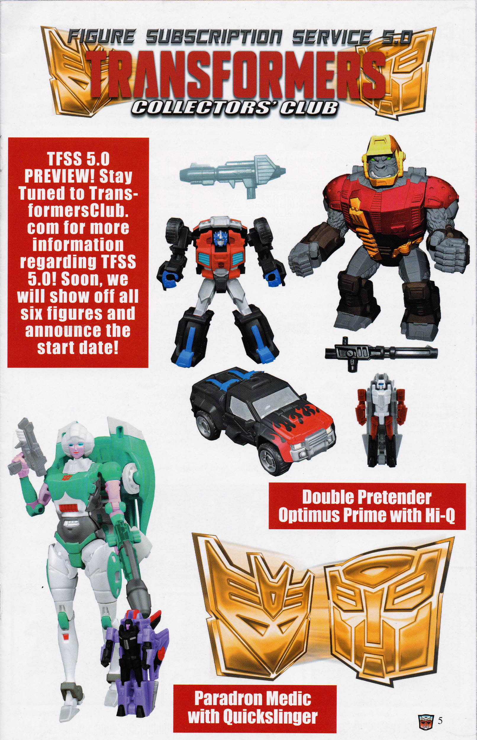 Read online Transformers: Collectors' Club comic -  Issue #67 - 5