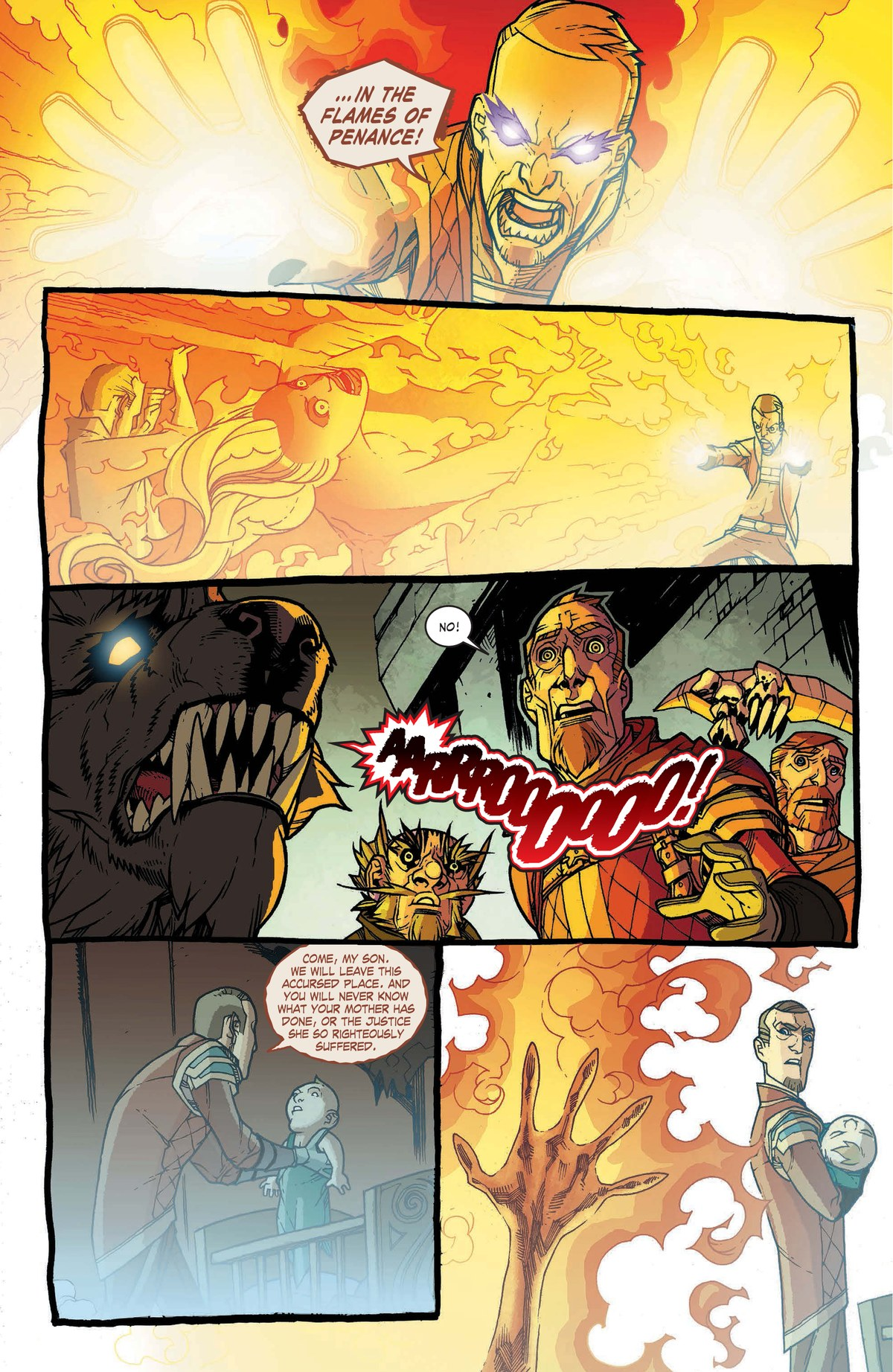Read online World of Warcraft: Dark Riders comic -  Issue # Full - 129
